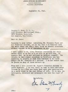 Mcgroarty letter
