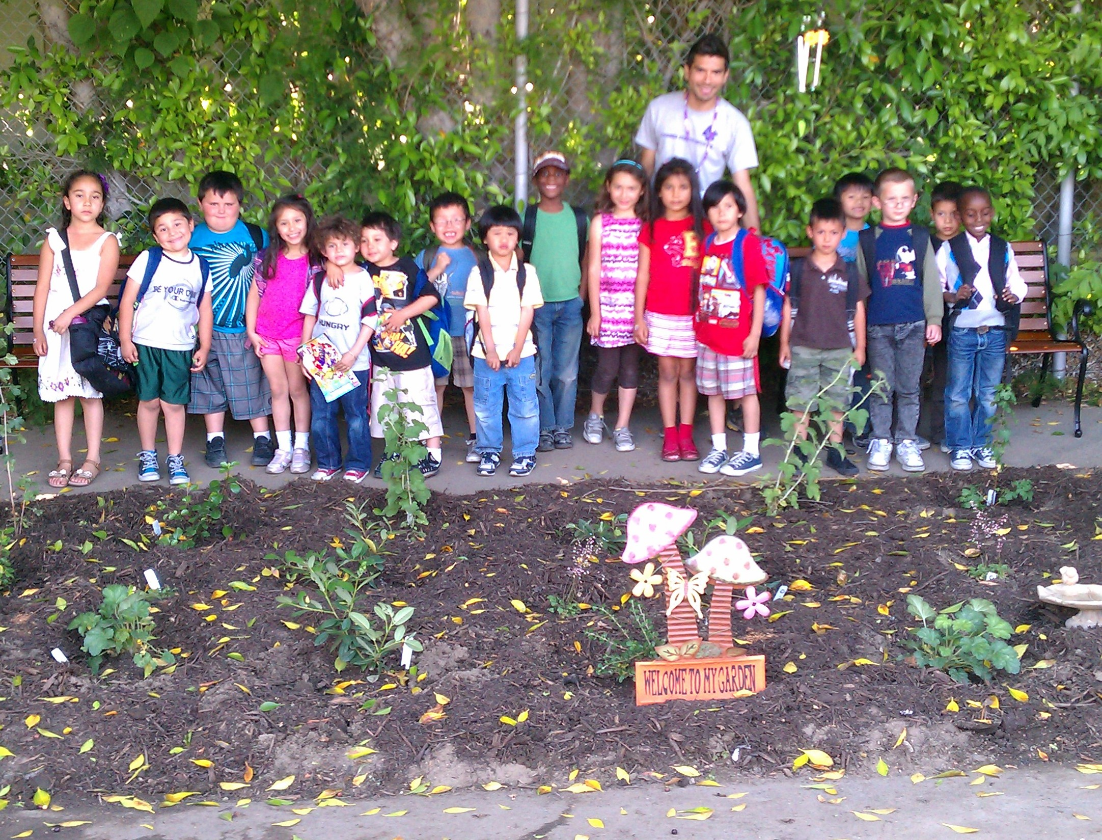 School Garden Design Theodore Payne Foundation