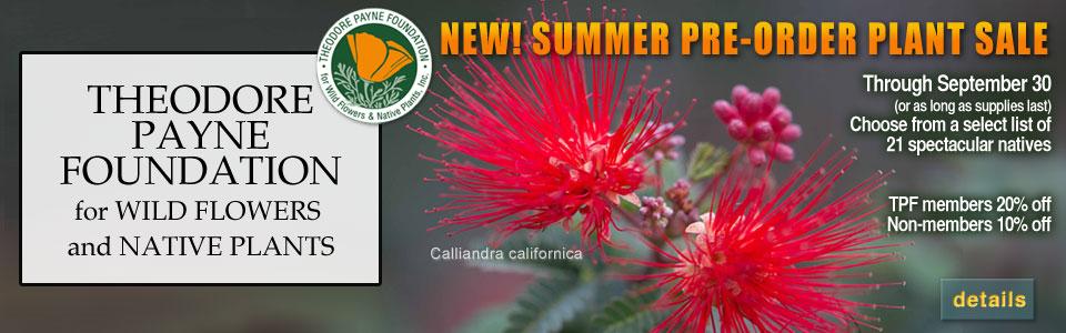 SUMMER PRE-ORDER PLANT SALE